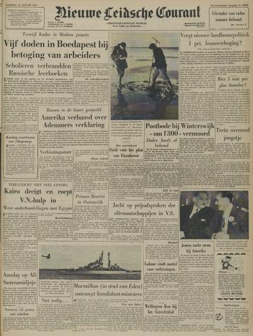 Nieuwe Leidsche Courant 1957-01-12
