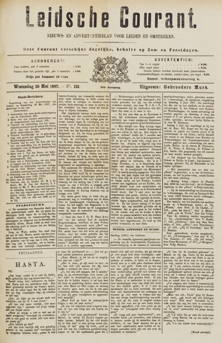 Leydse Courant 1887-05-25
