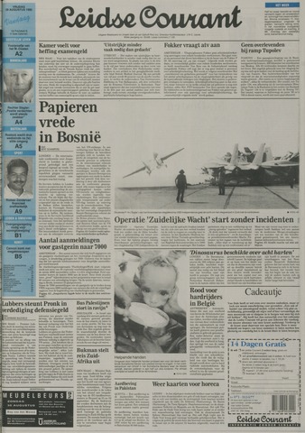 Leidse Courant 1992-08-28