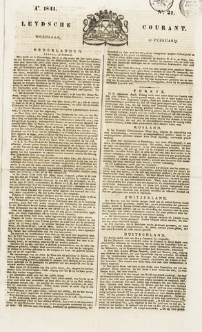 Leydse Courant 1841-02-17