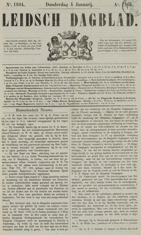 Leidsch Dagblad 1866-01-04