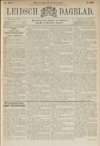 Leidsch Dagblad 1893-02-13