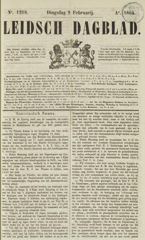 Leidsch Dagblad 1864-02-09