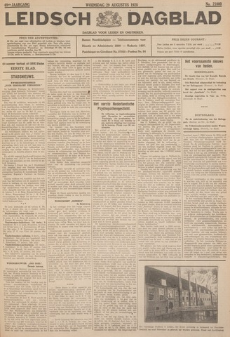 Leidsch Dagblad 1928-08-29