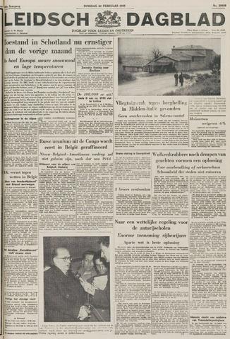 Leidsch Dagblad 1955-02-22