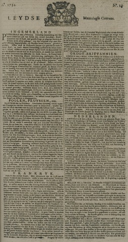 Leydse Courant 1734-03-08