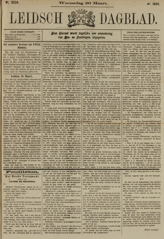Leidsch Dagblad 1890-03-26