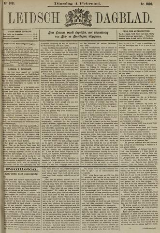Leidsch Dagblad 1890-02-04