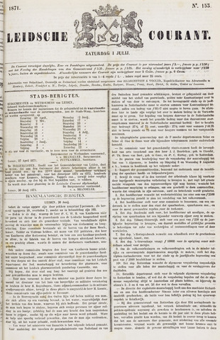 Leydse Courant 1871-07-01
