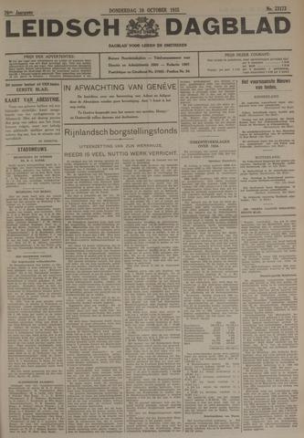 Leidsch Dagblad 1935-10-10