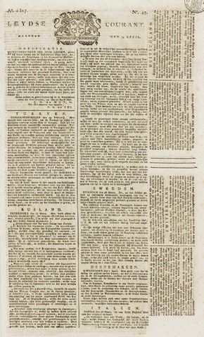 Leydse Courant 1817-04-14