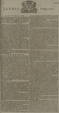 Leydse Courant 1728-08-20