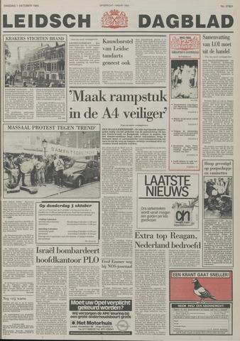 Leidsch Dagblad 1985-10-01