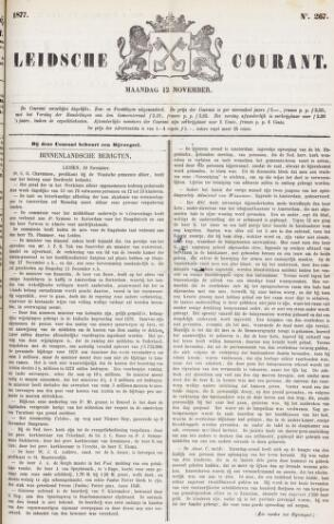 Leydse Courant 1877-11-12