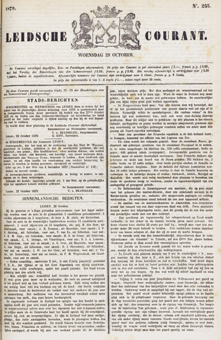Leydse Courant 1879-10-29