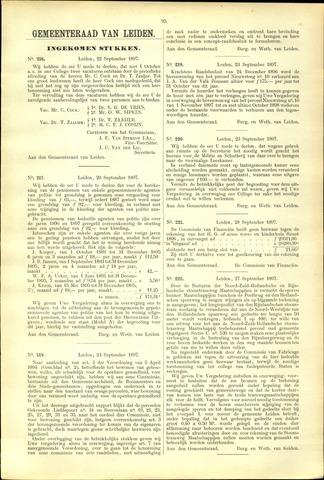 Handelingen van de Raad 1897-09-22