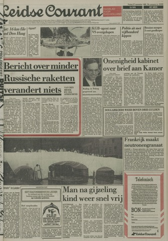 Leidse Courant 1985-09-27