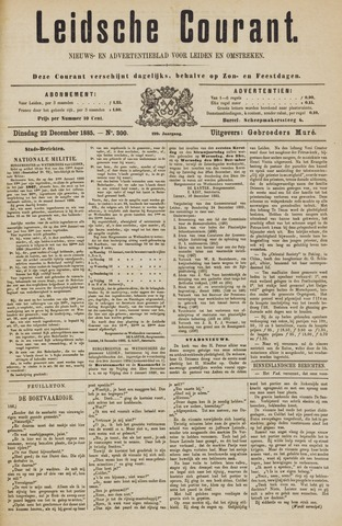 Leydse Courant 1885-12-22