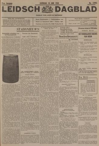 Leidsch Dagblad 1938-06-18