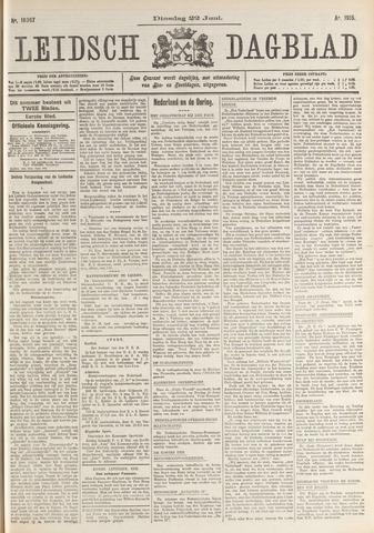 Leidsch Dagblad 1915-06-22