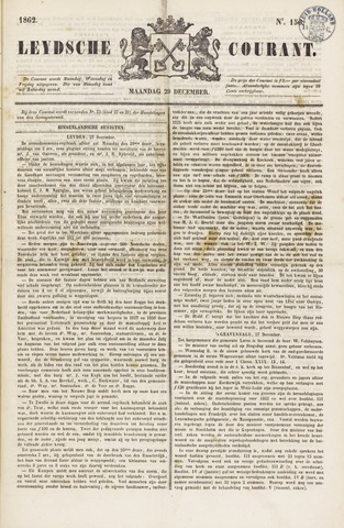 Leydse Courant 1862-12-29