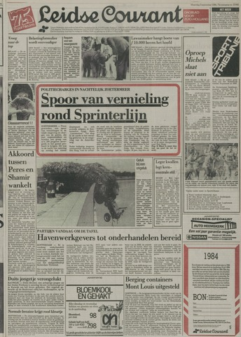 Leidse Courant 1984-09-03