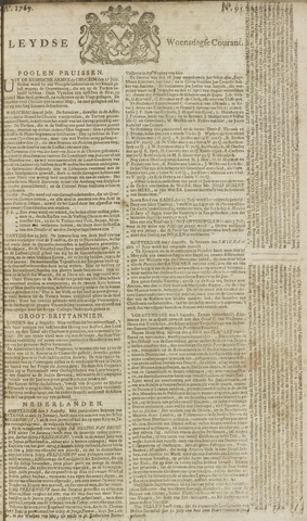 Leydse Courant 1769-08-09