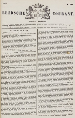Leydse Courant 1884-12-02