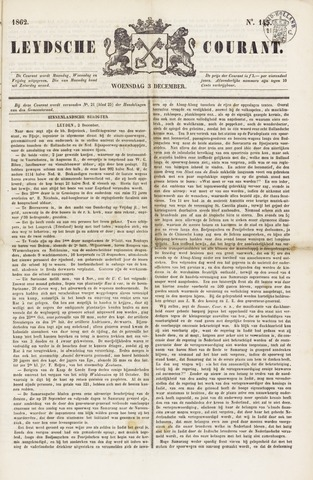 Leydse Courant 1862-12-03