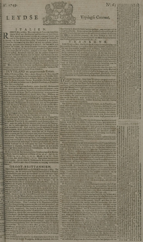 Leydse Courant 1749-05-30