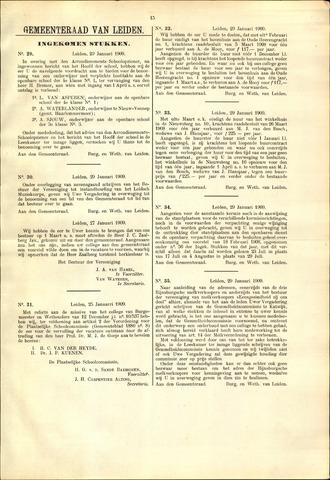 Handelingen van de Raad 1909-01-29