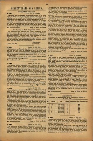 Handelingen van de Raad 1893-07-10
