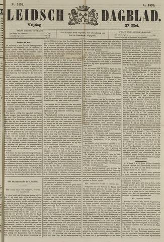 Leidsch Dagblad 1870-05-27