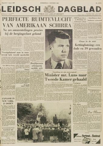 Leidsch Dagblad 1962-10-04