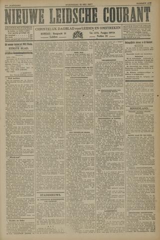 Nieuwe Leidsche Courant 1927-05-18