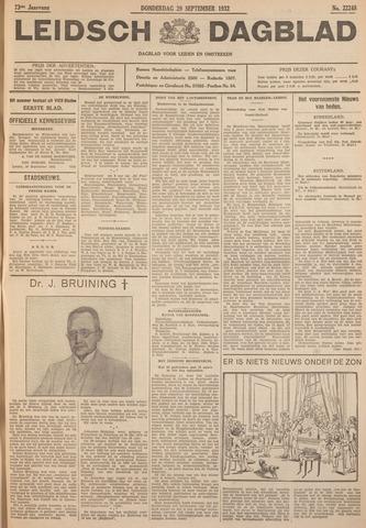 Leidsch Dagblad 1932-09-29