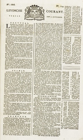 Leydse Courant 1826-09-22