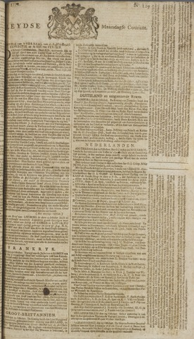 Leydse Courant 1772-10-26