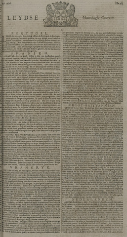 Leydse Courant 1726-05-27