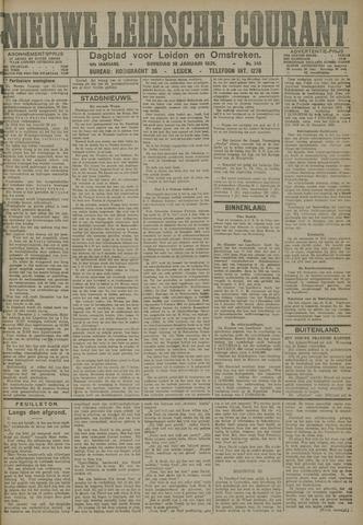 Nieuwe Leidsche Courant 1921-01-18