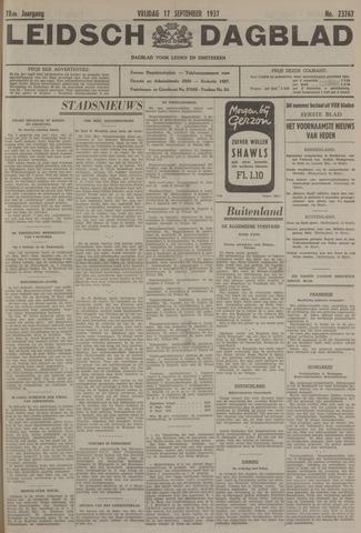 Leidsch Dagblad 1937-09-17