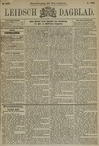 Leidsch Dagblad 1890-11-13