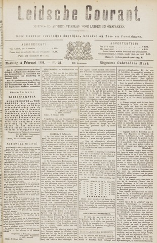 Leydse Courant 1889-02-11