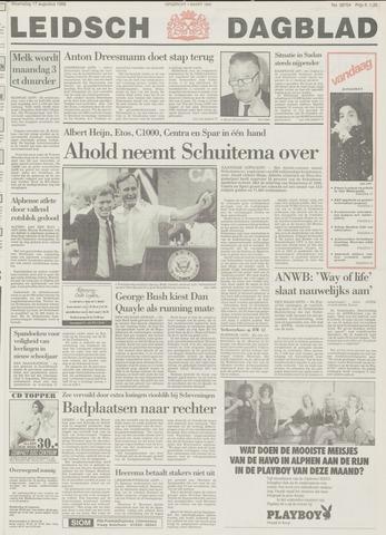 Leidsch Dagblad 1988-08-17