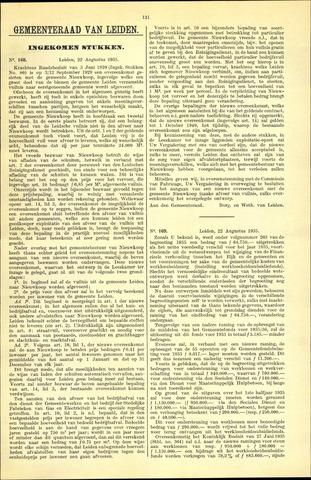 Handelingen van de Raad 1935-08-22