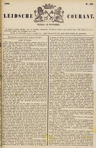Leydse Courant 1883-11-23