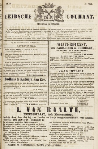 Leydse Courant 1872-10-14