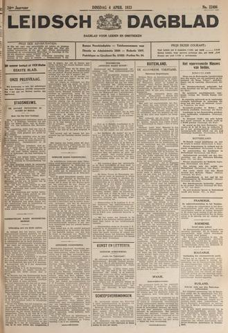 Leidsch Dagblad 1933-04-04