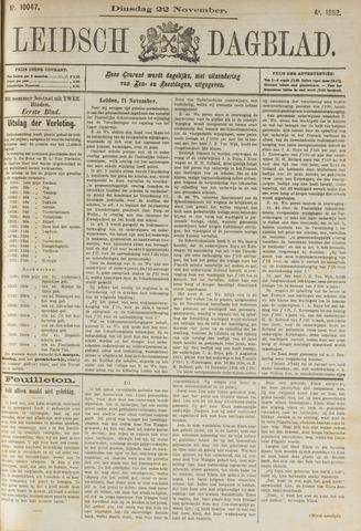 Leidsch Dagblad 1892-11-22