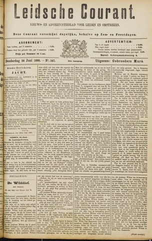 Leydse Courant 1890-06-26